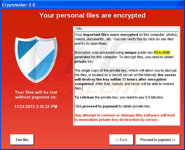 Cryptolocker come difendersi